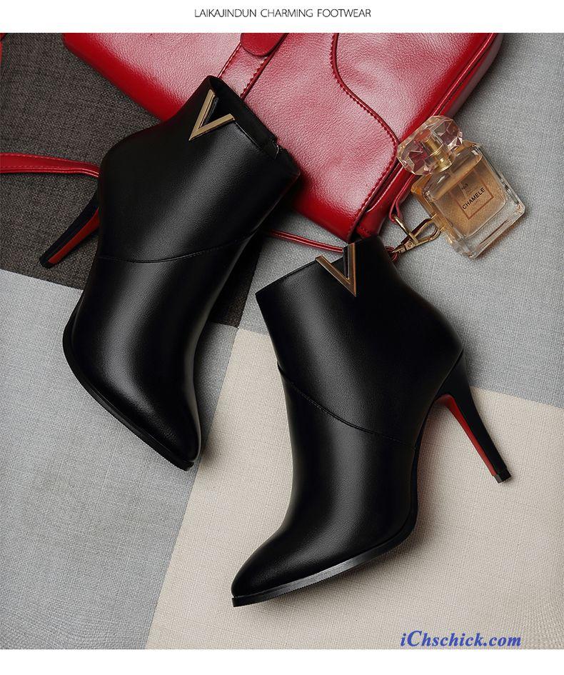 new style 30676 eeb92 Cognac Leder Damen Lachsrosa, Sommer Boots Damen Günstig