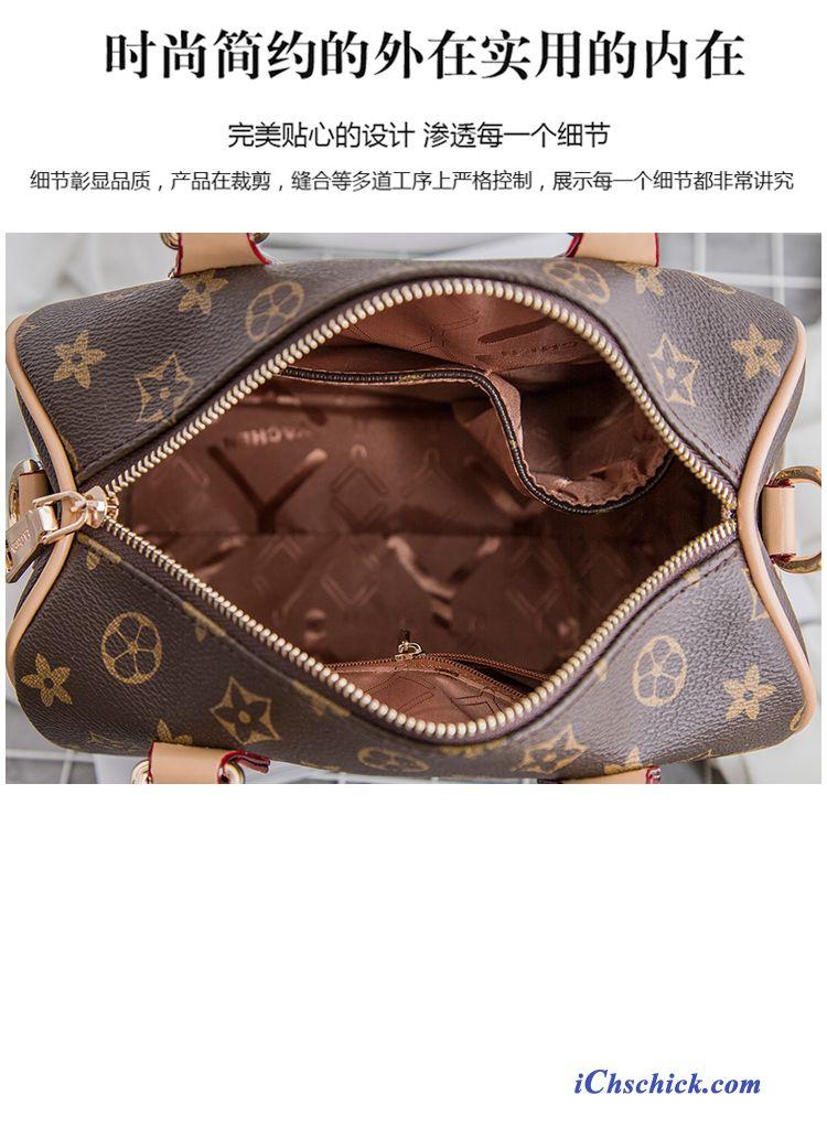 Echt Leder Tasche Damen, Kleine Braune Handtasche Sale