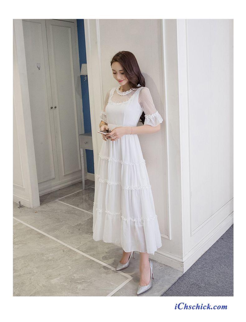 Festliche Sommerkleider, Damen Kleid Wadenlang Kaufen