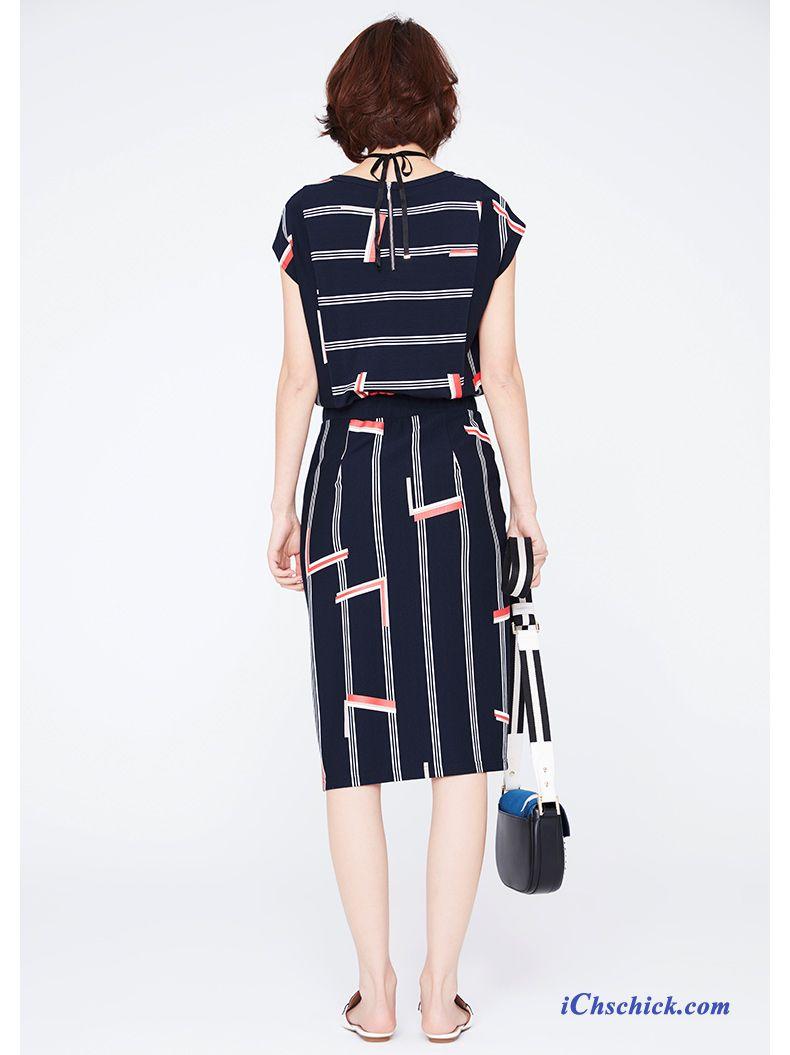 Kleid Mit Spitze Blau, Online Kleidung Bestellen Kaufen