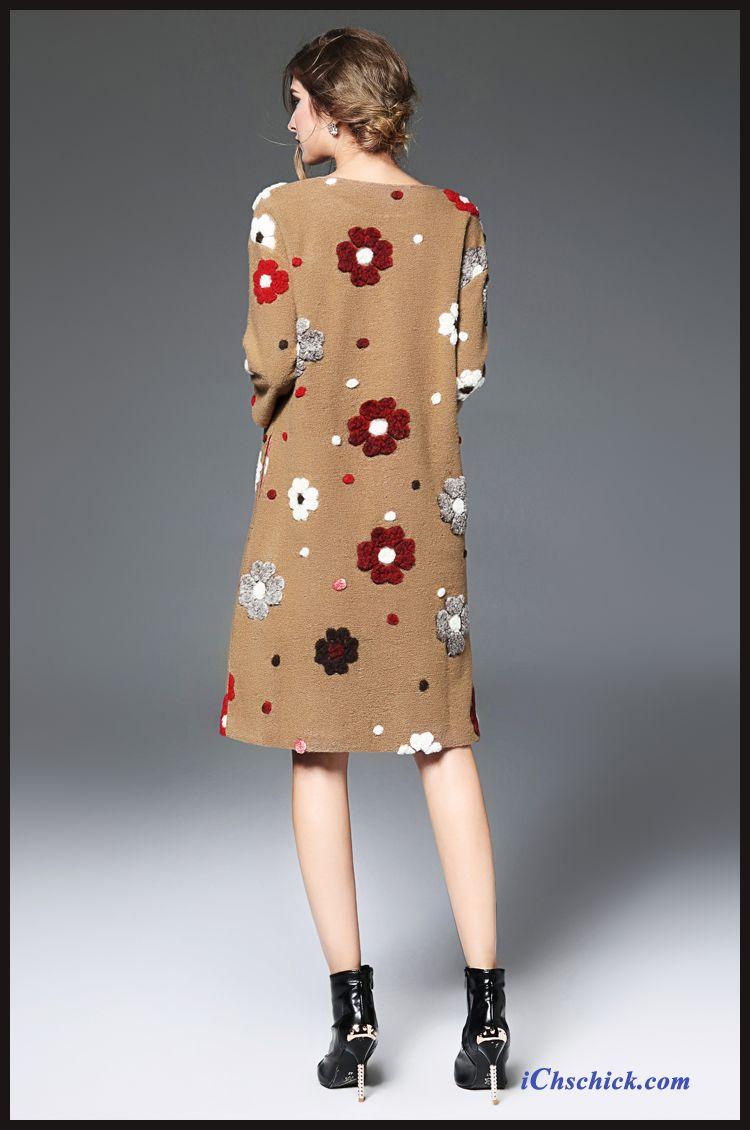 Kleider Mode Marineblau, Damen Kleider Kurzarm