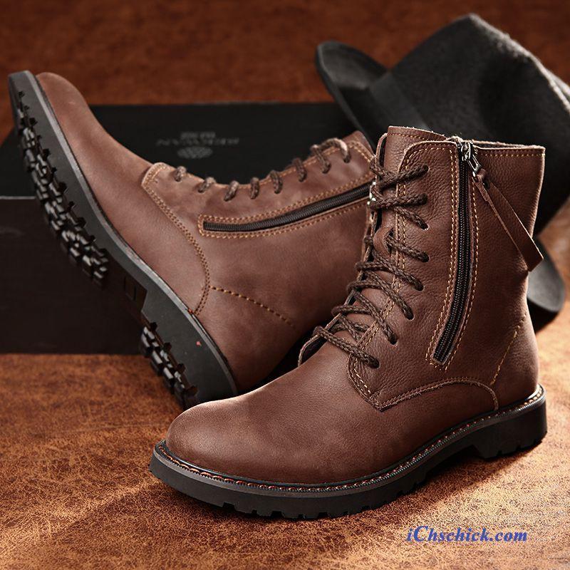 detailed look 8ce9e 60583 Herrenschuhe Halbhoch Dunkelrot, Winterschuhe Herren Sneaker ...