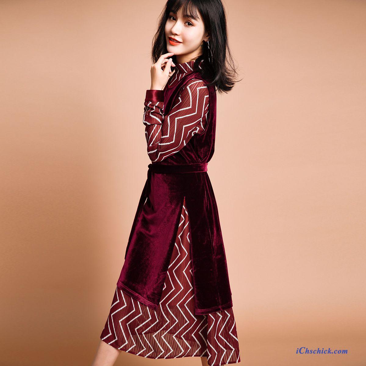 2d5b11ead332cc Langes Kleid Grün Lindgrün, Kleider Günstig Online Bestellen Billig