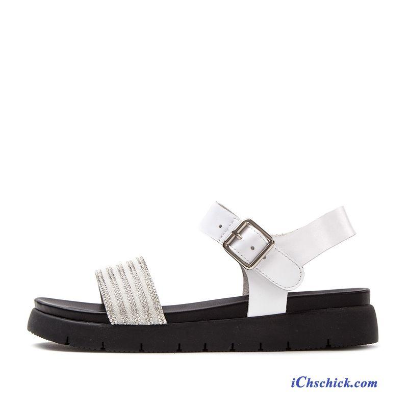 new style ca273 6fe0e Schuhe Sandalen Damen Türkis, Leder Sandalen Damen Flach Günstig