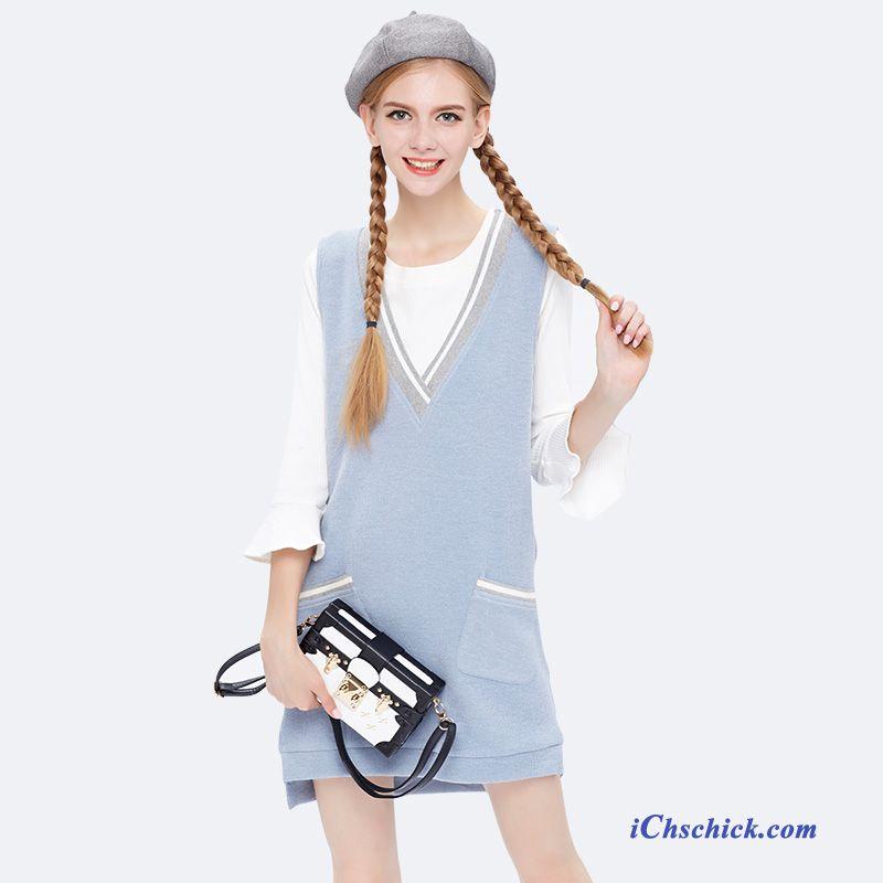 new styles 392e9 034e7 Blaues Kleid Mit Spitze Kupfer, Sommerkleider Lang Günstig