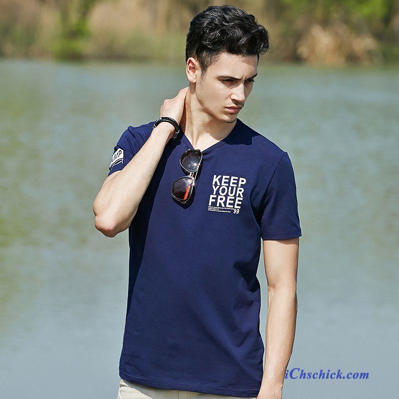 low priced aa5b0 1b562 Gestreiftes T Shirt Herren, Shirt Blau Weiß Gestreift Herren ...