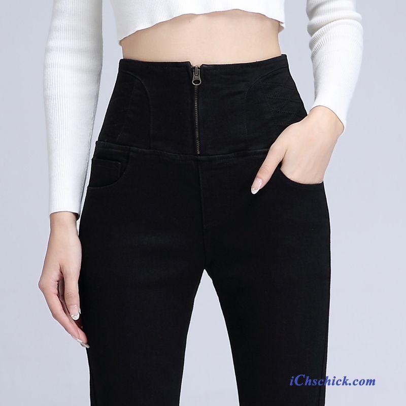 DamenHohe Damen Günstig Jeans Hochgeschnittene Leibhöhe wN8nOPkXZ0