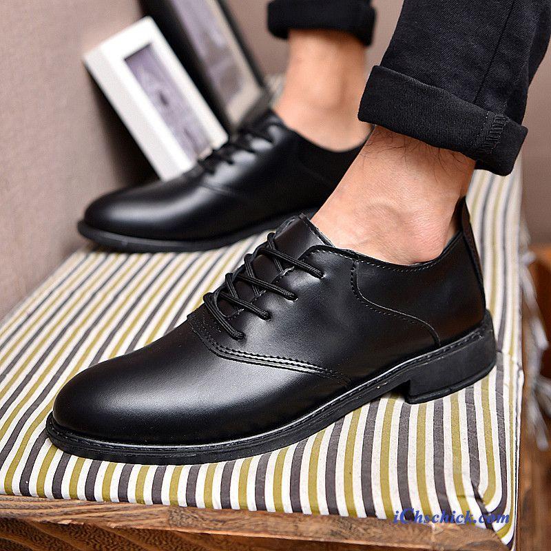 best service e10cf d9e72 Italienische Leder Schuhe Herren Marineblau, Leder Schuhe ...