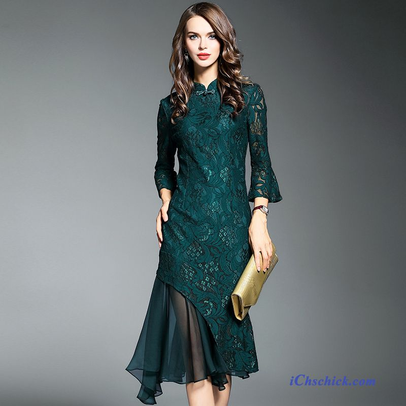 Damen kleid turkis