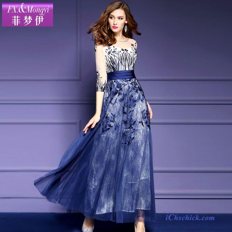 Blaues kleid gunstig