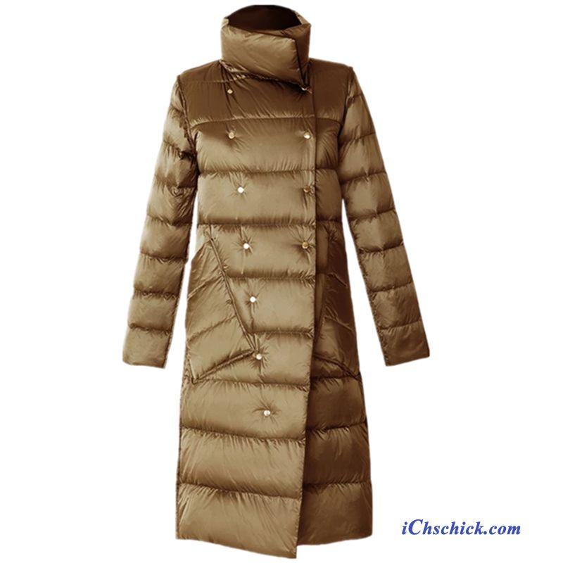 angenehmes Gefühl gut Modern und elegant in der Mode Leichte Steppjacke Mit Kapuze Damen Lavendel, Daunenjacke ...