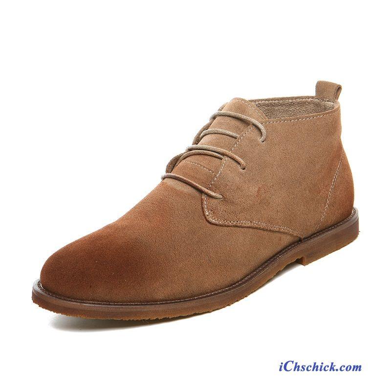 quality design daa47 034d9 Männer Boots Schuhe, Herren Lederstiefel Hoch Günstig