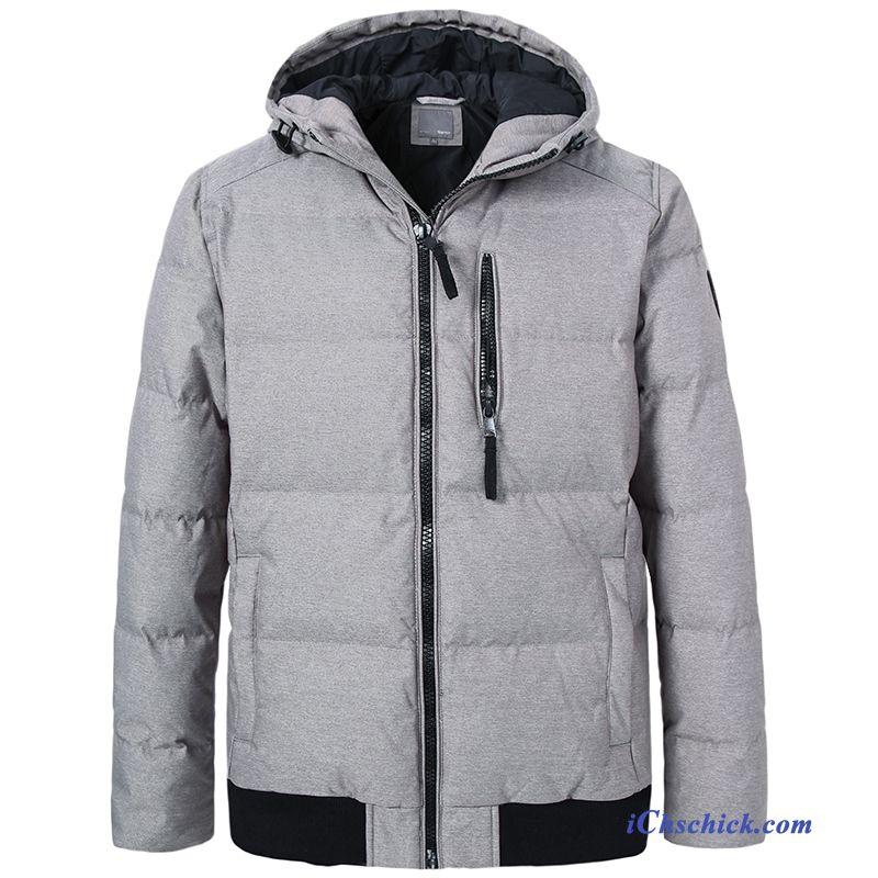 verschiedene Farben Premium-Auswahl Größe 40 Mode Daunenjacke Herren Sandbeige, Ärmellose Daunenjacke Herren