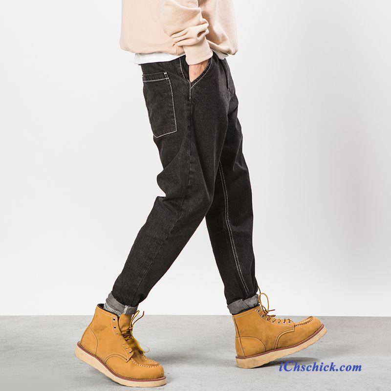 skinny biker jeans herren dunkelgrau moderne herren jeans. Black Bedroom Furniture Sets. Home Design Ideas