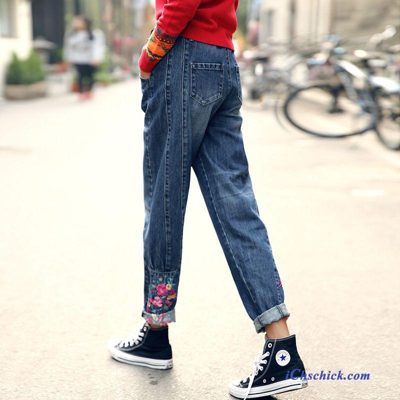 stylische jeans damen hellblau zerrissene jeans damen kaufen. Black Bedroom Furniture Sets. Home Design Ideas