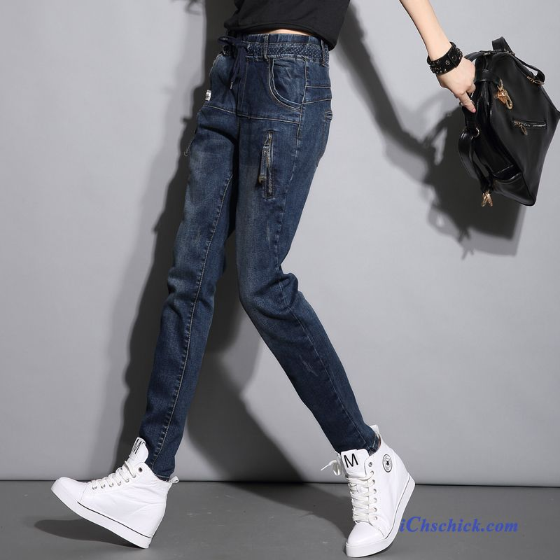 2d88b55d22fb32 Weiße Jeans Destroyed Kaffeebraun, Mode Jeans Damen Günstig