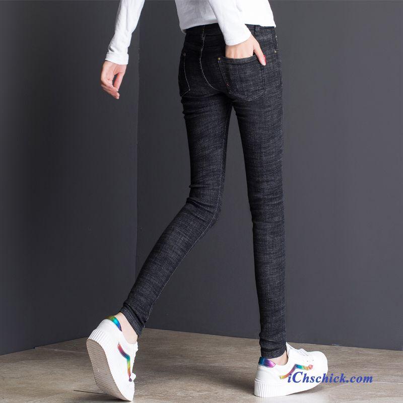 weiße destroyed jeans damen