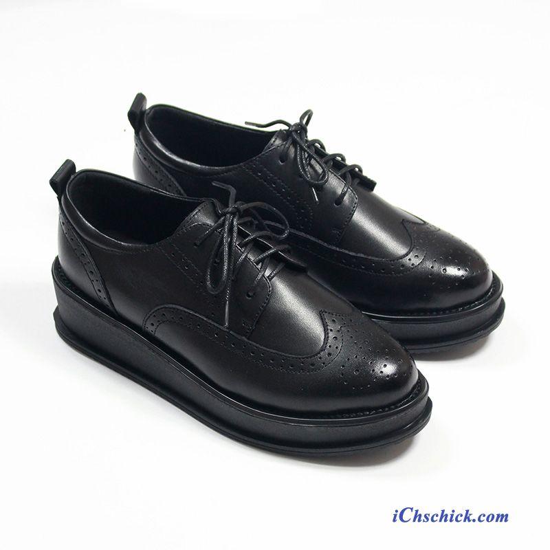 san francisco f0877 143ce Winter Leder Schuhe Damen Beige, Schwarze Leder Schuhe Günstig